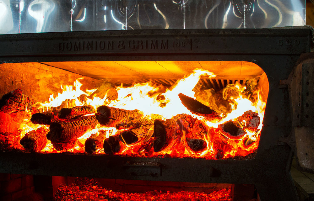 Looking Into the Firebox